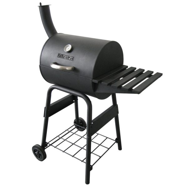 Master Forge Patio Barrel 15-in Charcoal Grill