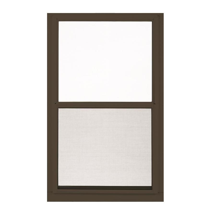 Shop Larson Low E Aluminum Brown Window Rough Opening 32