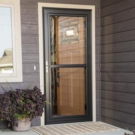 Shop Larson Tradewinds White Full View Aluminum Storm Door