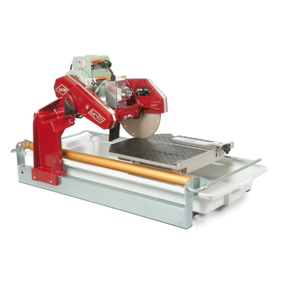 mk diamond products 10 in 1 5 wet tabletop sliding table tile saw