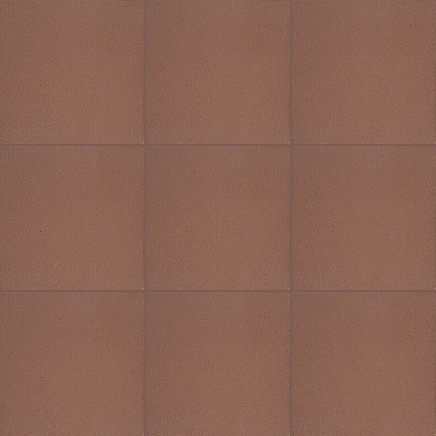 american olean quarry naturals 44 pack lava red 6 in x 6 in matte ceramic brick look floor and wall tile