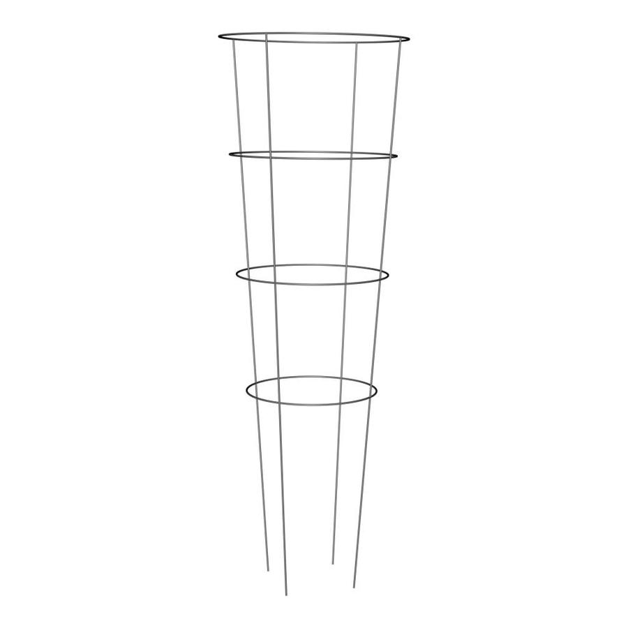 54-in Galvanized Steel Wire Round Tomato Cage at Lowes.com