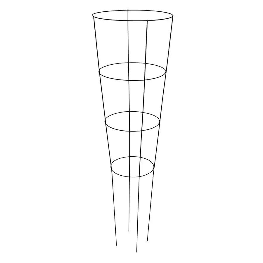 Shop 54-in Powder-Coated Galvanized Steel Wire Round
