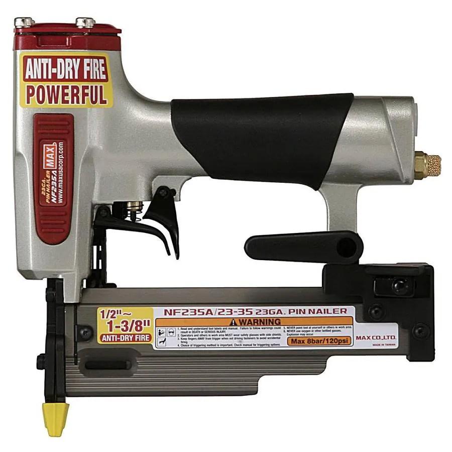 Shop MAX Micro Pinner 23Gauge Roundhead Pin Pneumatic