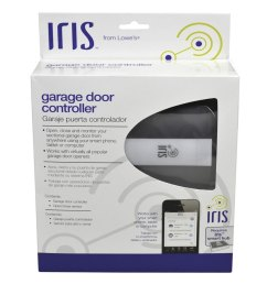 iris universal garage door internet gateway [ 900 x 900 Pixel ]