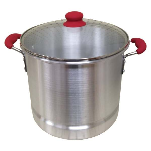 Imusa Global Kitchen 12-quart Aluminum Stock Pot With Lid