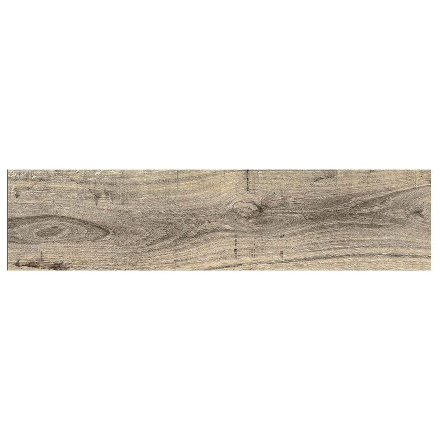gbi tile stone inc madeira buff 6 in x 24 in glazed ceramic wood look floor and wall tile