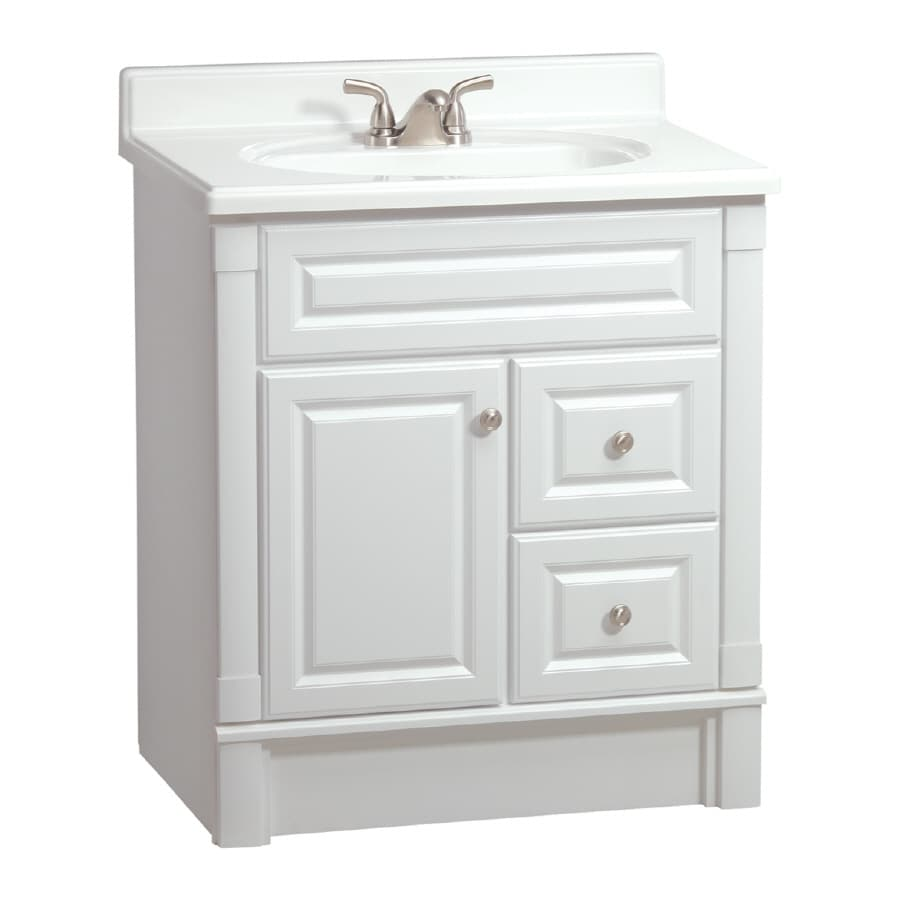 ESTATE by RSI Southport White 30in Casual Bathroom Vanity at Lowescom