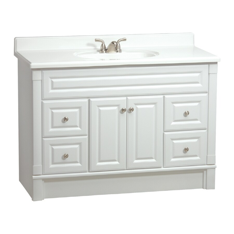 estate by rsi southport white 48 in casual bathroom vanity