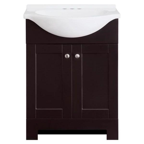 Style Selections Euro Espresso Single Sink Vanity