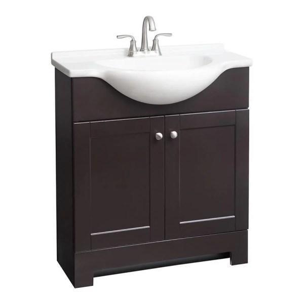 Euro Style Bathroom Vanity with Sink