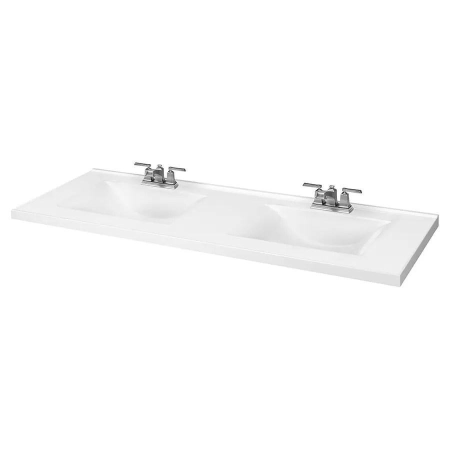 double sink bathroom vanity tops at