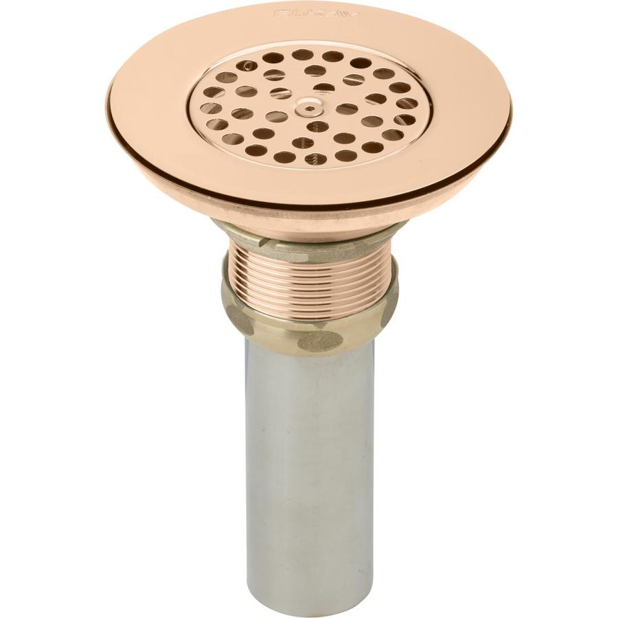 copper sink drains stoppers at lowes com