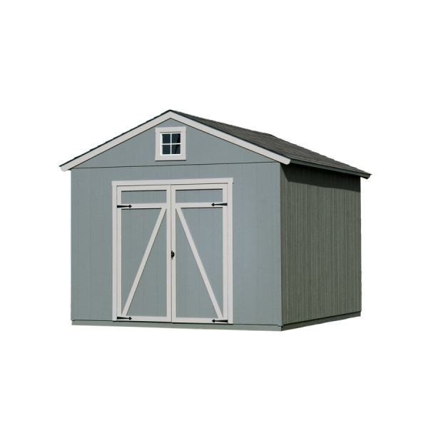 Heartland Statesman Gable Engineered Wood Storage Shed Common 10-ft X 12-ft; Interior