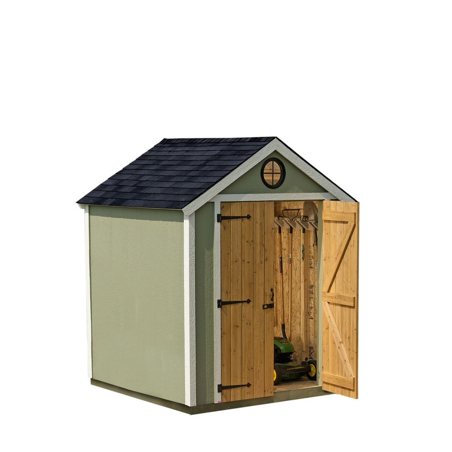 Shop Heartland 6 x 6 x 8 Wood Storage Shed at Lowescom