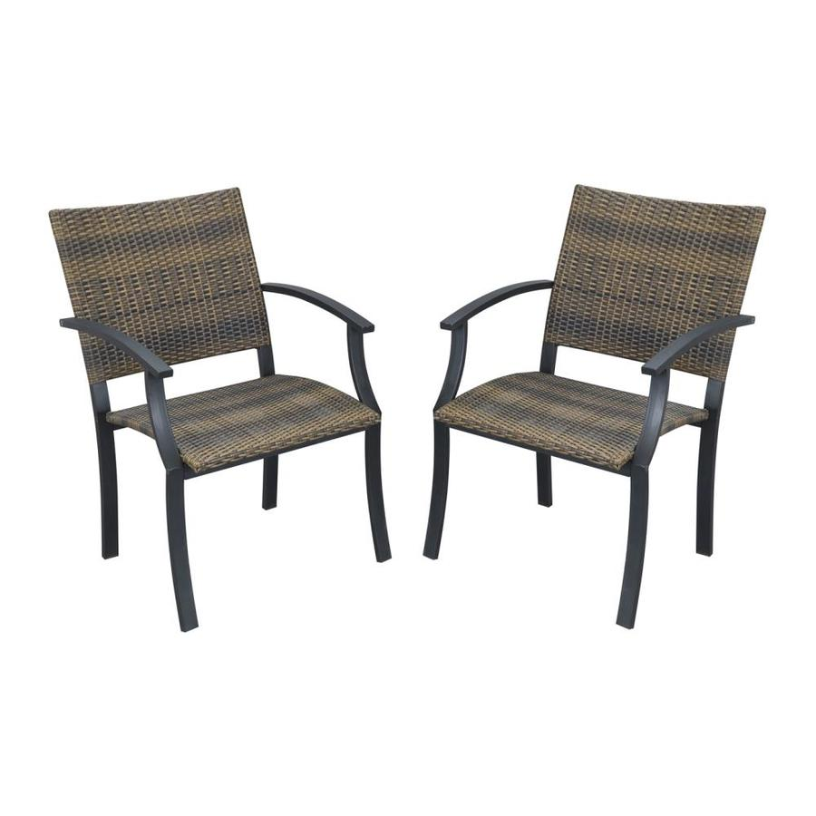 Styles Of Chairs Home Styles Newport Set Of 2 Stackable Metal Stationary Dining