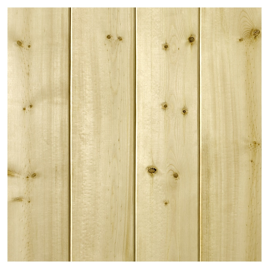 Empire Company 3.5-in x 8-ft Raw Pine Wall Plank
