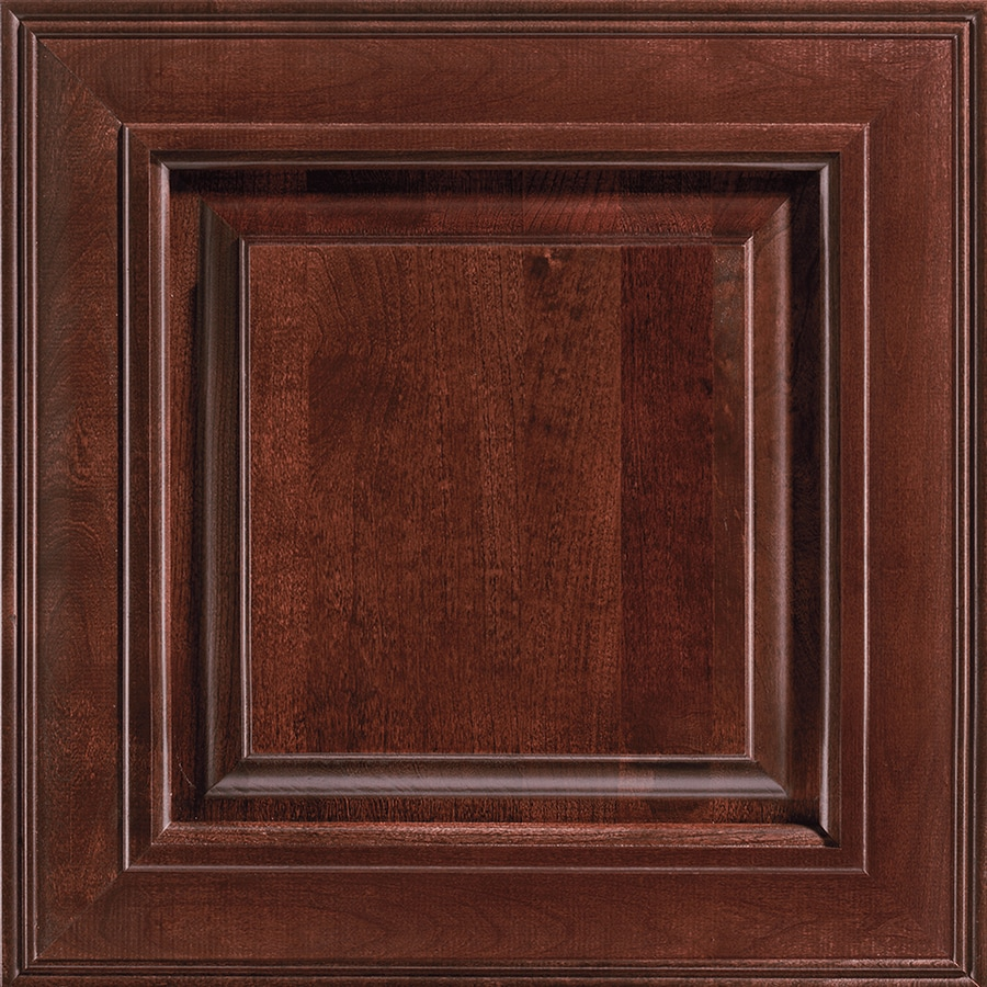 average cost for kitchen cabinets gray shop shenandoah mckinley 14.5625-in x 14.5-in bordeaux ...