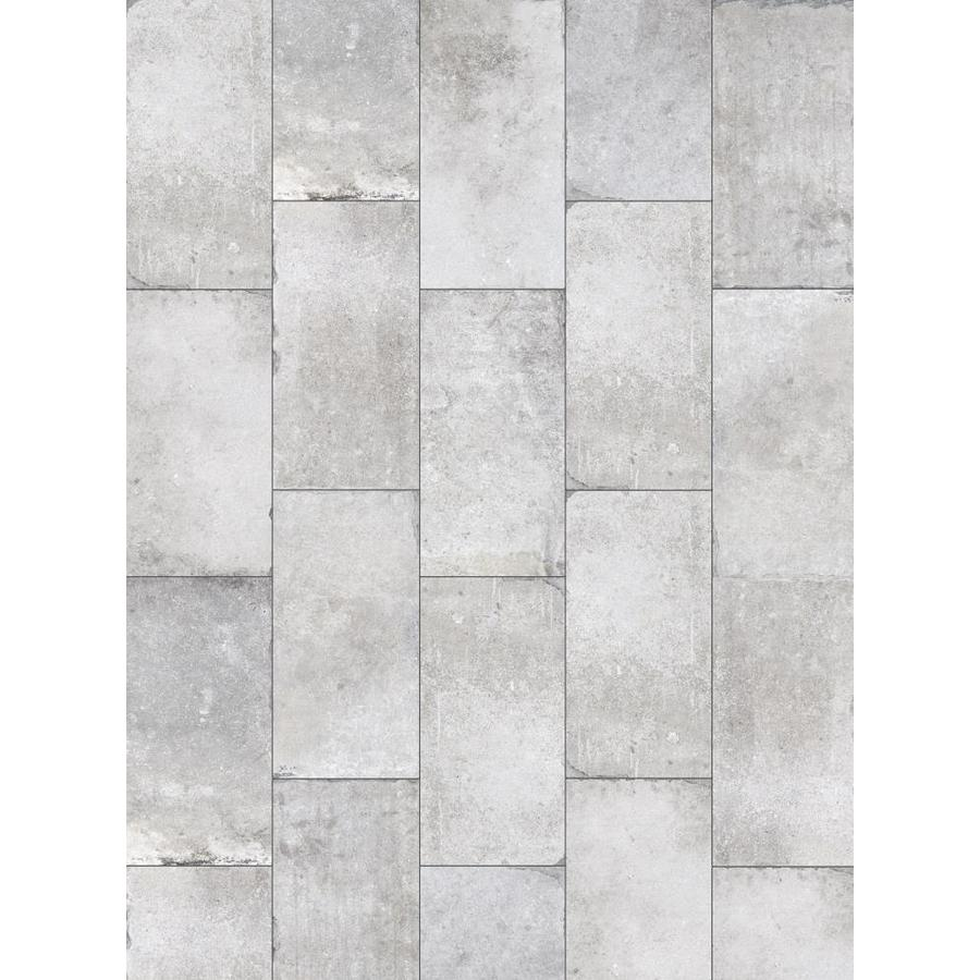 style selections chatham grey 12 in x 24 in glazed porcelain tile