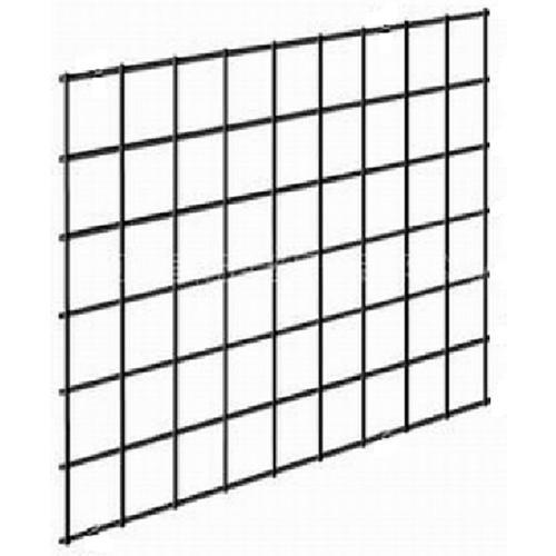 2/5-in x 60-in x 72-in Black Metal Railing Panel in the