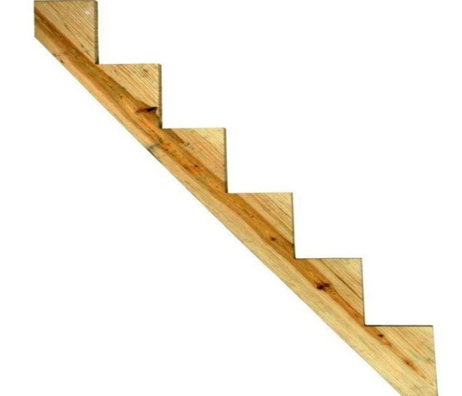 Deck Stairs At Lowes Com   Wood Stairs For Sale   Cheap   Trailer   Open Tread   Landing   Wooden