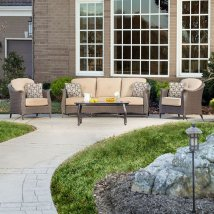 Hanover Outdoor Furniture Gramercy 4-piece Wicker Frame