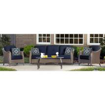 Hanover Outdoor Furniture Gramercy 4-piece Wicker