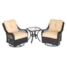 Hanover Outdoor Furniture Orleans 3-piece Wicker