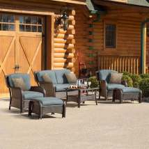 Hanover Outdoor Furniture Strathmere 6-piece Wicker