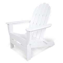 Folding Lawn Chairs Heavy Duty Chair Gym System Shop Polywood Classic Adirondack Plastic With Slat Seat At Lowes.com