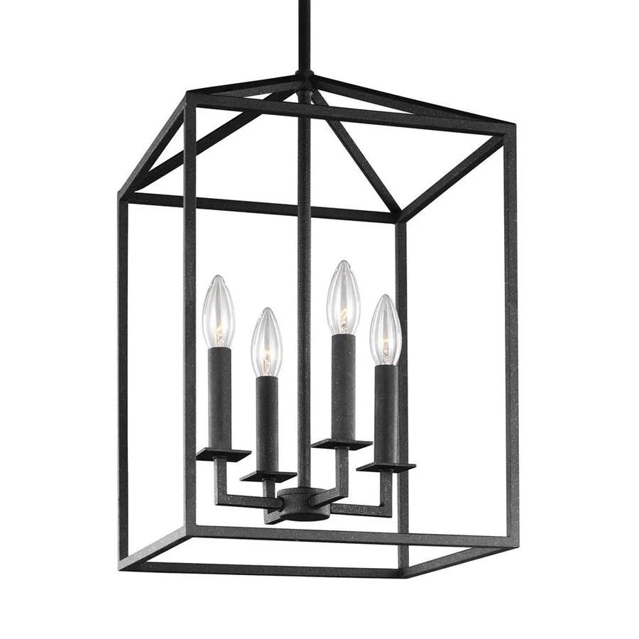 Shop Sea Gull Lighting Perryton 12.25-in Blacksmith Rustic