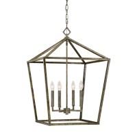 Shop Millennium Lighting Antique Silver Transitional Cage ...