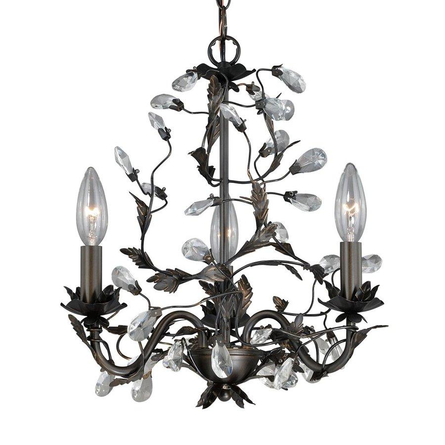 Cascadia Lighting Trellis 3-Light Architectural Bronze