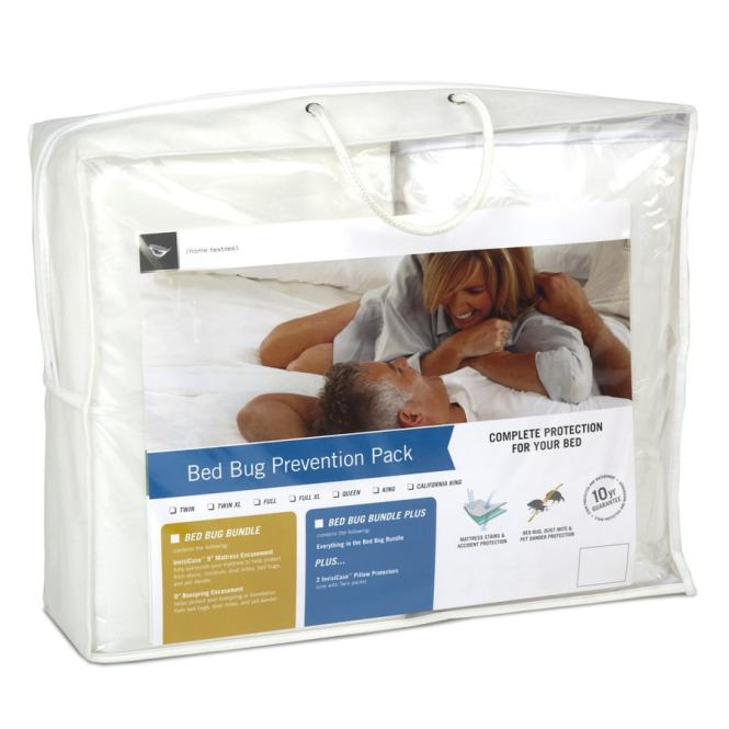 Fashion Bed Group Polyester Queen Mattress Cover With Bug Protection