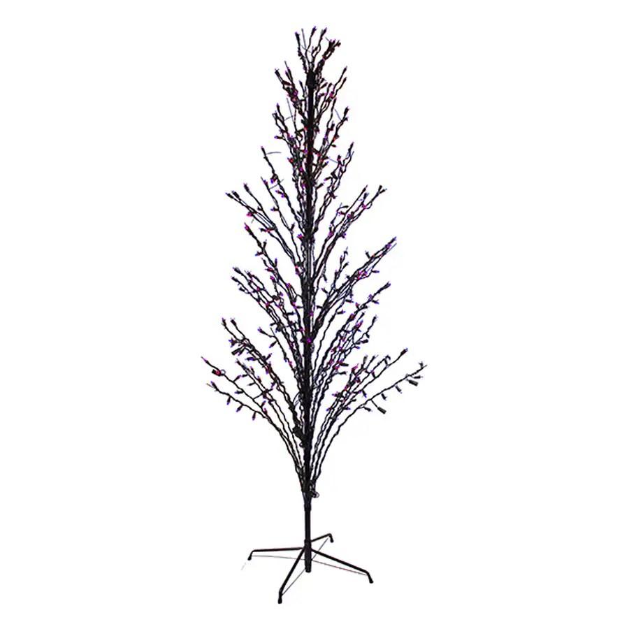 Shop Northlight 6-ft Twig Slim Artificial Halloween Tree