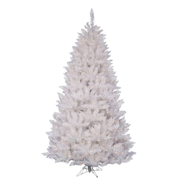 Vickerman Crystal 45ft Prelit White Spruce Artificial