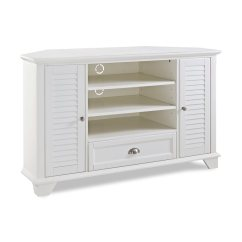 Crosley Kitchen Cart Making A Table Shop Furniture Palmetto White Tv Stand At Lowes.com