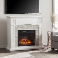 Shop Boston Loft Furnishings 45.75-in W 5000-BTU Crisp ...
