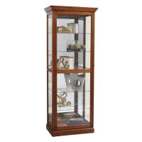 Shop Pulaski Oak Curio Cabinet at Lowes.com