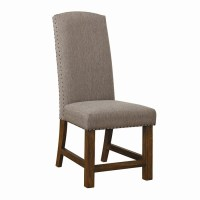 Shop Scott Living Set of 2 Grey Parsons Chair at Lowes.com