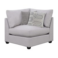 Shop Scott Living Casual Gray Corner Chair at Lowes.com