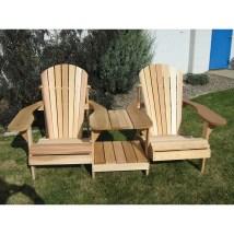Cedar Muskoka Set Of 2 Adirondack Chair