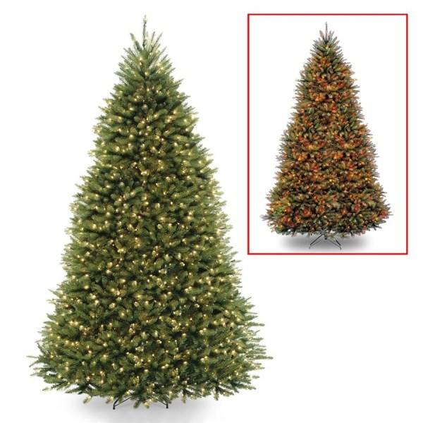 National Tree Company 9-ft Pre-lit Artificial Christmas With 900 Multi-function Multicolor