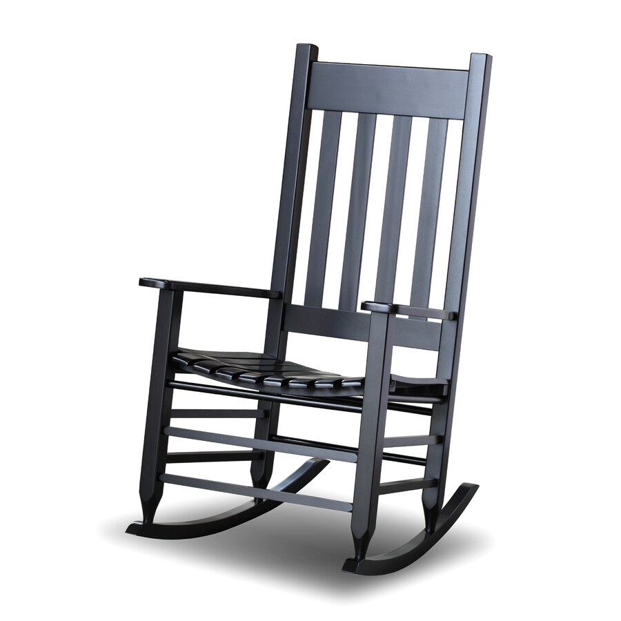 Hinkle Chair Company MissionShaker Black Rocking Chair at