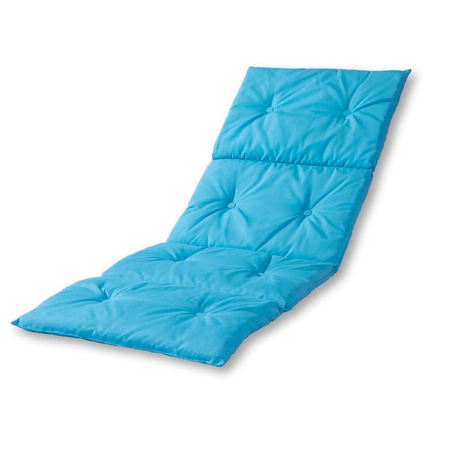 greendale home fashions teal patio chaise lounge chair cushion