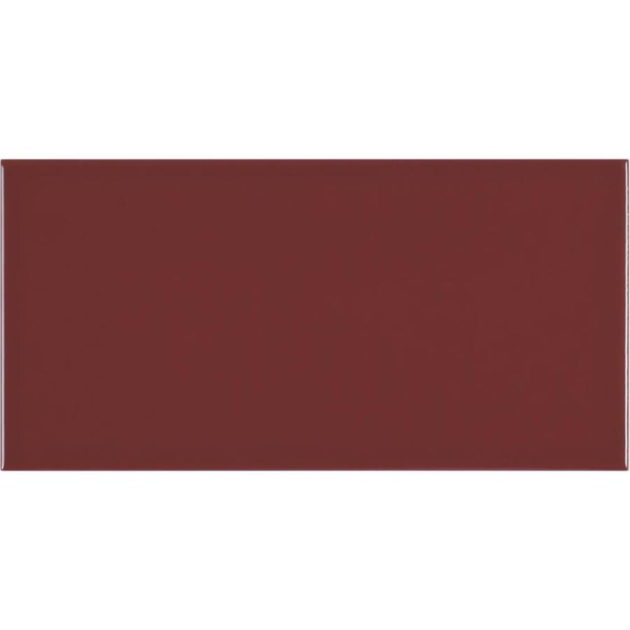 crossville playground 55 pack wine gloss 4 in x 8 in glossy ceramic subway wall tile