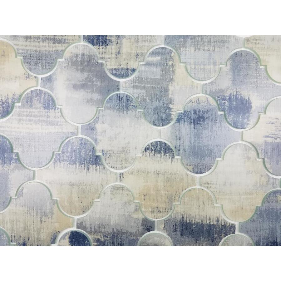 abolos nature 10 pack cement blue matte 12 in x 12 in matte glass lantern wood look wall tile