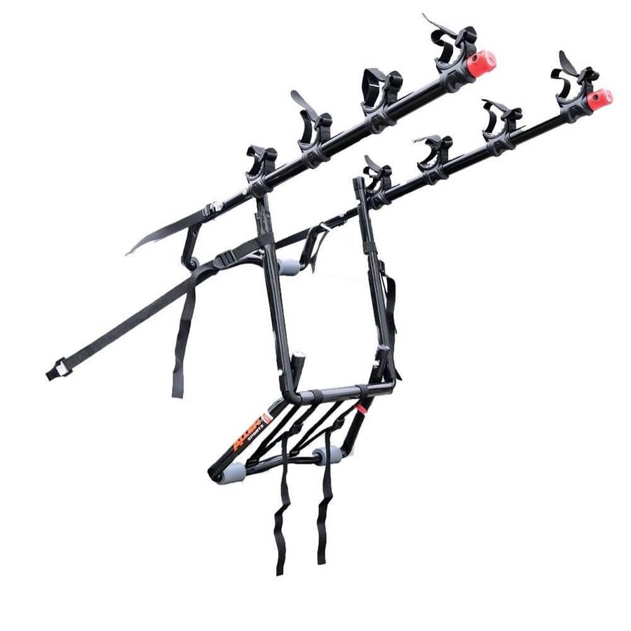 trunk deluxe 4 bike rack with tie downs