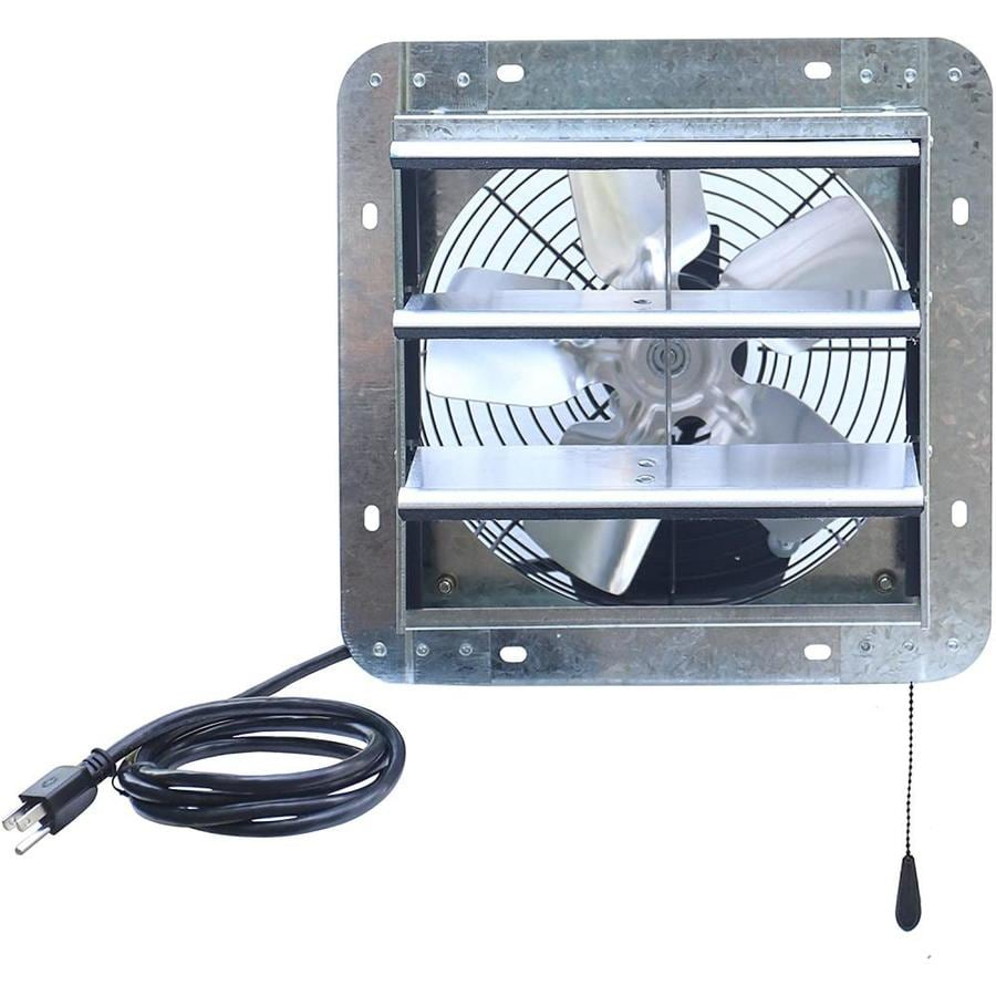 iliving 10 in plug in indoor wall mounted fan