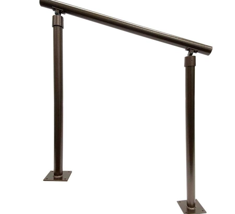 Aluminum Handrails At Lowes Com   Lowes Outdoor Step Railings   Lowes Com   Balusters   Wrought Iron   Deck Railing   Handrail Kit
